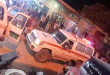 صورة عاجل: وفاة وجرح عدد من المواطنين في إنهيار سقف محل بحضرموت