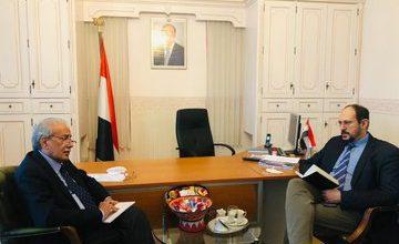 صورة السفير الشعيبي: الحوثي جماعة ارهابية عنصرية تنشر ثقافة الموت