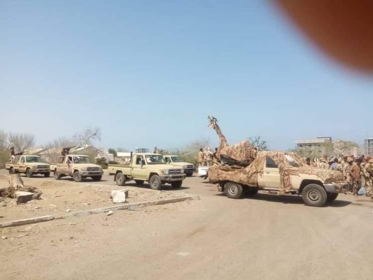 """صورة """"يمن الغد"""" ينفرد بتفاصيل حصرية حول التوترات العسكرية في العلم وتهديد التحالف والقوات التي تحركت من خارج شبوة وماذا يحدث الان في مطار عتق؟"""