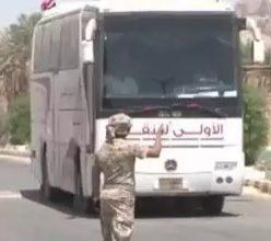 صورة مليشيا الحوثي تعترض طريق المسافرين في البيضاء