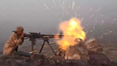 صورة تجدد المواجهات بين الجيش والحوثيين غرب تعز
