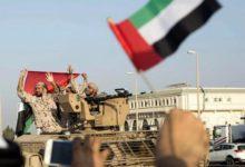 """صورة الإمارات تدافع عن مأرب وتقدم دورا بارزا بالتصدي لمليشيات الحوثي رغم غدر """"الإخوان"""""""