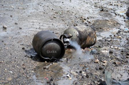 صورة العند ومعركة البحث عن الغاز المنزلي