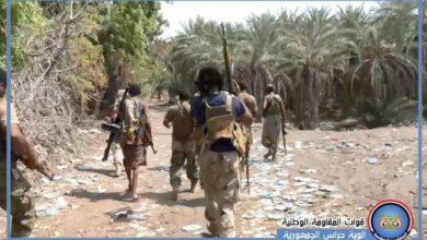 صورة حملة أمنية لملاحقة عصابات التهريب وتحار السلاح بالحديدة