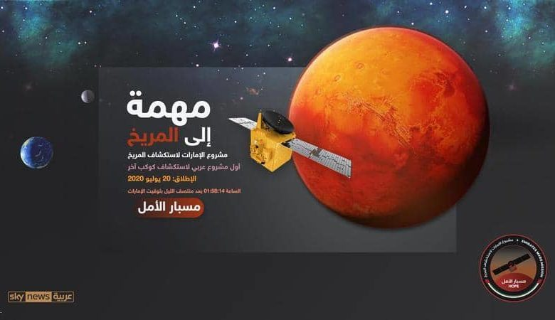 """صورة انطلاق """"مسبار الأمل"""" الإماراتي إلى المريخ بنجاح """"فيديو"""""""