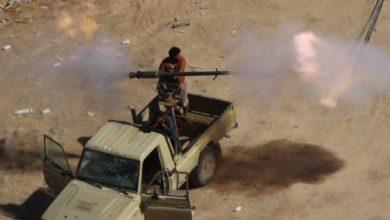 صورة معارك عنيفة شمال باقم بعد هجوم حوثي على المحجر
