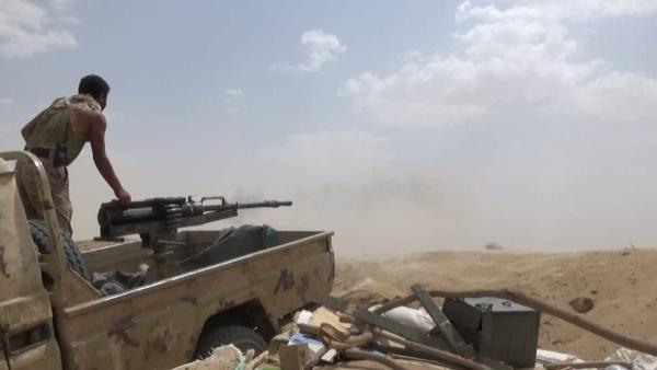 صورة تعزيزات عسكرية للجيش تصل مأرب