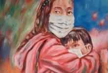 """صورة 40 فنانا من مختلف أنحاء العالم بينهم يمنيين يحاورون """"كوفيد"""" في الإمارات"""