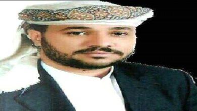 صورة الشيخ/ مهدي العقربي يرد على إدعاءات نجل اللواء فيصل رجب (بيان)