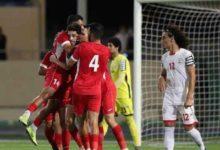 صورة المنتخب اليمني يخسر مباراة حاسمة أمام نظيره الاردني