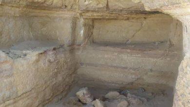 صورة اكتشاف مقبرة بحضرموت عمرها 2500 عام