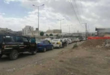 صورة ازمة وقود خانقه في صنعاء وازدهار للسوق السوداء