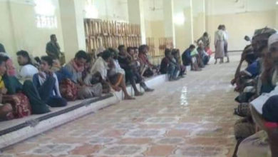 صورة القوات الموالية للإصلاح تجهض تظاهرة سلمية بشبوة