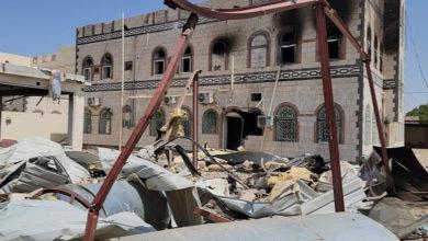 صورة مصادر: مليشيات الحوثي تستهدف منزل محافظ مأرب بصاروخين باليستيين وهذا مصير العرادة (صور)