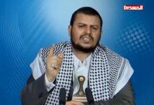 صورة زعيم الحوثيين يعترف : بيع أغنام المجهود الحربي من أجل القات !