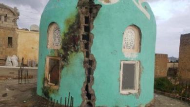 صورة شاهد ماذا فعلت الصواعق الرعدية بهذه المحافظة اليمنية