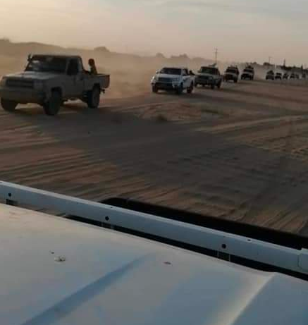 صورة بعتادها الضخم  قوات عسكرية تصل مأرب لخوض المعركة الفاصلة والتقدم نحو صنعاء وهذا من يقودها!