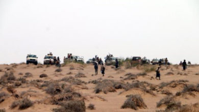 صورة مصرع 40 حوثياً  في حقل ألغام بجبهة الكسارة(تفاصيل)