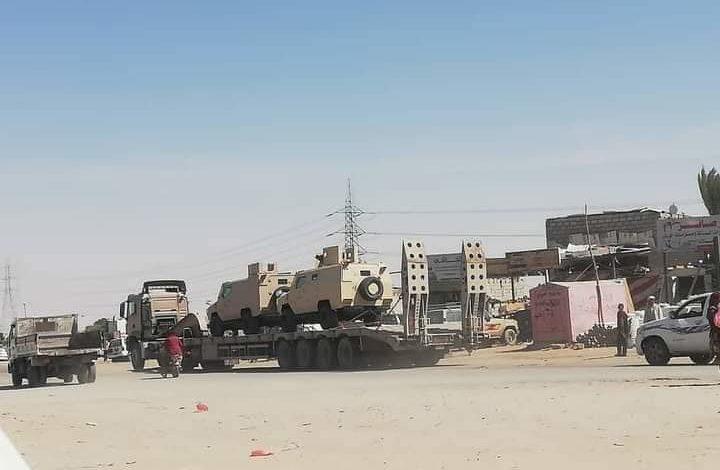 """صورة تحشيد اخواني لحصار عدن والتطلع لإسقاط الساحل.. مأرب تترنح و""""الاصلاح"""" يهندس الهزيمة الكبرى"""