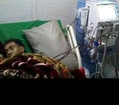 """صورة تدهور الحالة الصحية لـ""""أصيل الشهاب"""" في إب وعائلته تناشد"""