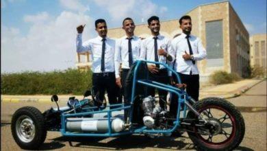صورة شاهد.. اختراع مذهل لطلاب كلية الهندسة بعدن