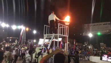 صورة عاجل : المليشيات تستهدف حفل إيقاد شعلة ثورة 26 سبتمبر وسقوط عدد من الضحايا بين قتيل وجريح