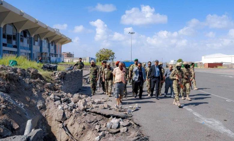 تفجيرات مطار عدن