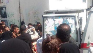 صورة يمني يعتدي بوحشية على زوجته ويهشم رأسها بمطرقة (تفاصيل)