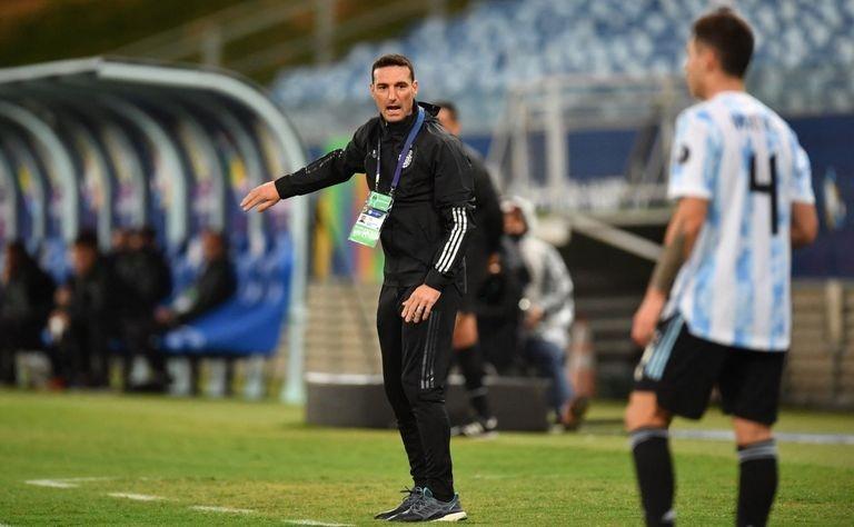 ليونيل سكالوني مدرب منتخب الأرجنتين