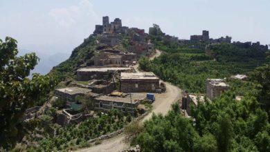 صورة قرى جبلية في المحويت