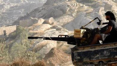 صورة معارك عنيفة في جبهات المخدرة ومحزام ماس بمأرب
